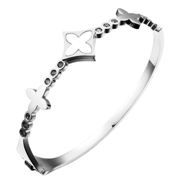 Elveene Bangle Bracelet - Stainless Steel
