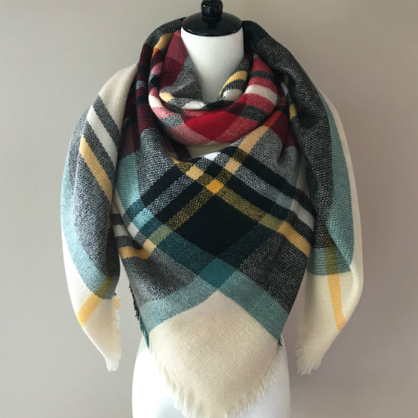 """Holiday Cheer"" Blanket Scarf"