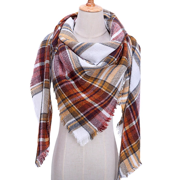 Fall is in the Air Blanket/Triangle Scarf