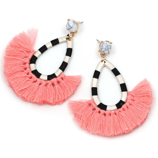 Freya Tassel Earrings