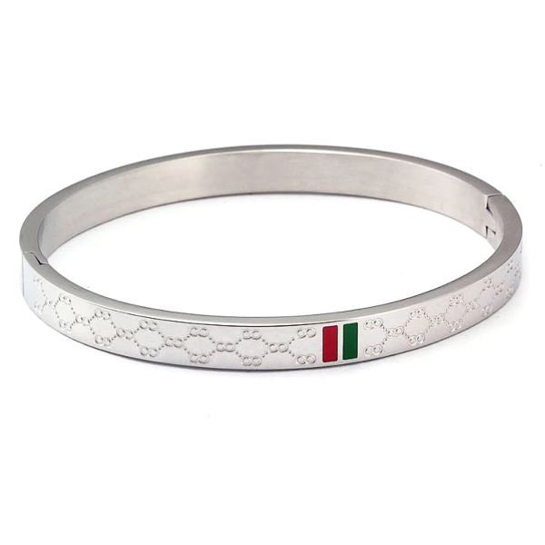 Giana Bangle Bracelet - Stainless Steel