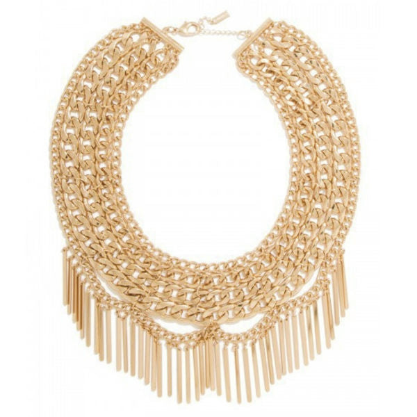 Gia Chained Statement Necklace