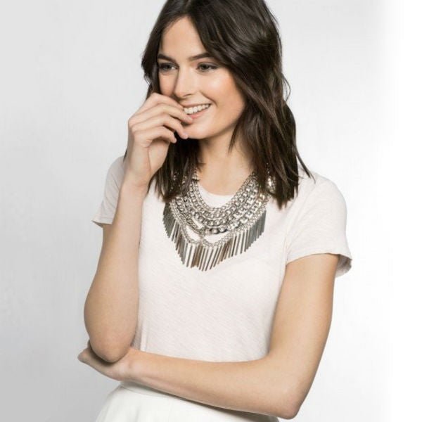 Gold Chained Statement Necklace
