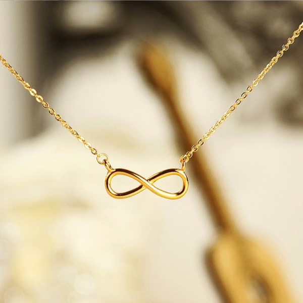 Infinity Dainty Necklace - Stainless Steel