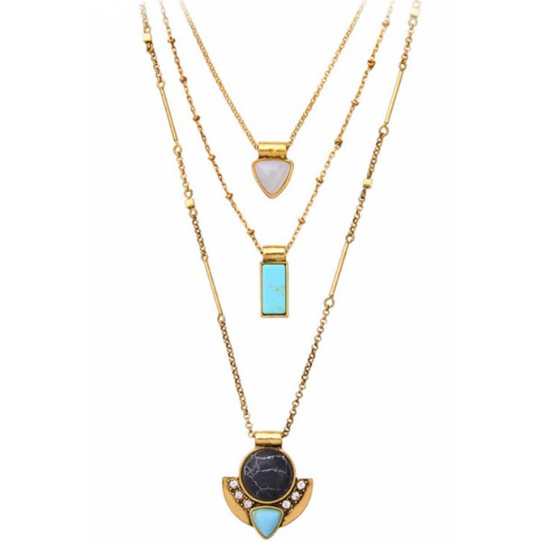 Katalina Layered Multi-way Necklace Set