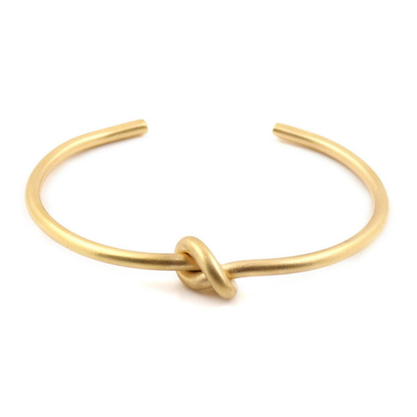 Knot Cuff Bracelet - Stainless Steel