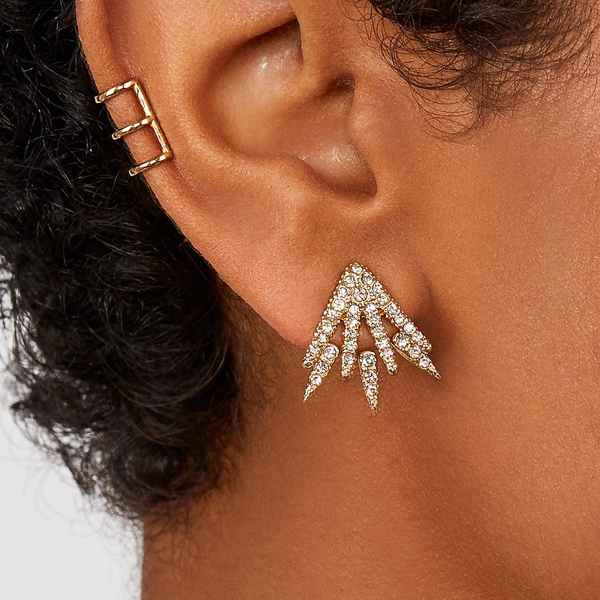 Lexi Front and Back Earrings