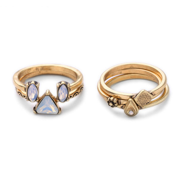 Lilla Rings Set