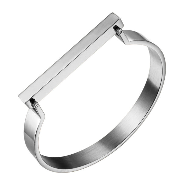Lux Bar Bangle Bracelet - Stainless Steel