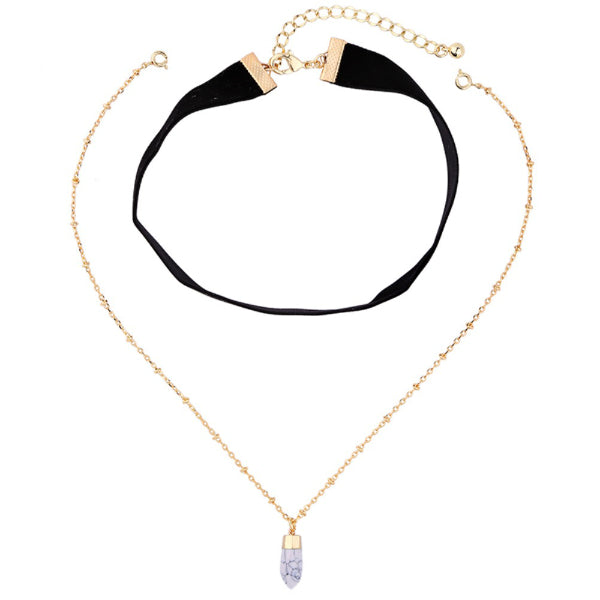 Mia Choker Necklace Set