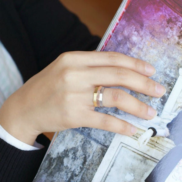 Octogonal Ring / Midi Rings