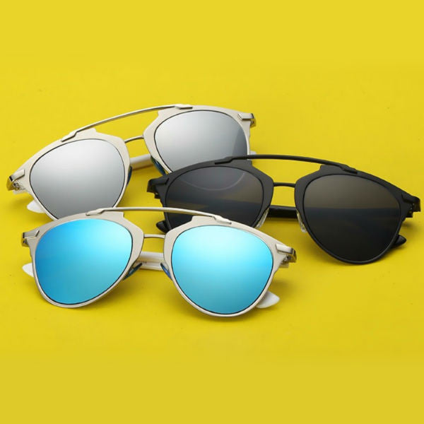 Prato Sunglasses - Silver Mirror