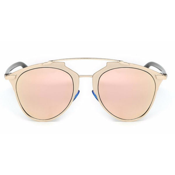 Prato Sunglasses - Rose Gold Mirror