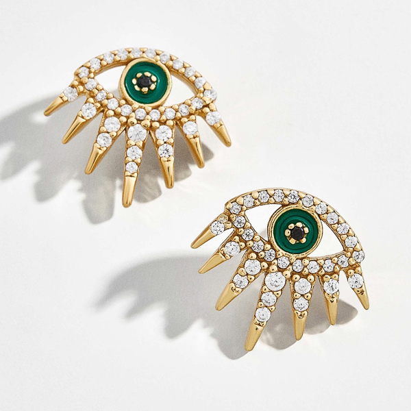 Ra Stud Earrings
