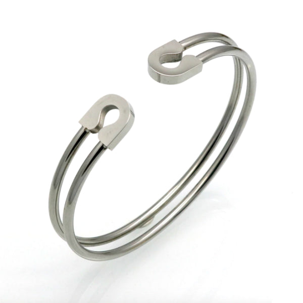 Safety Cuff Bracelet - Stainless Steel