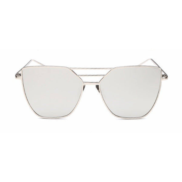 Salerno Sunglasses - Silver Mirror