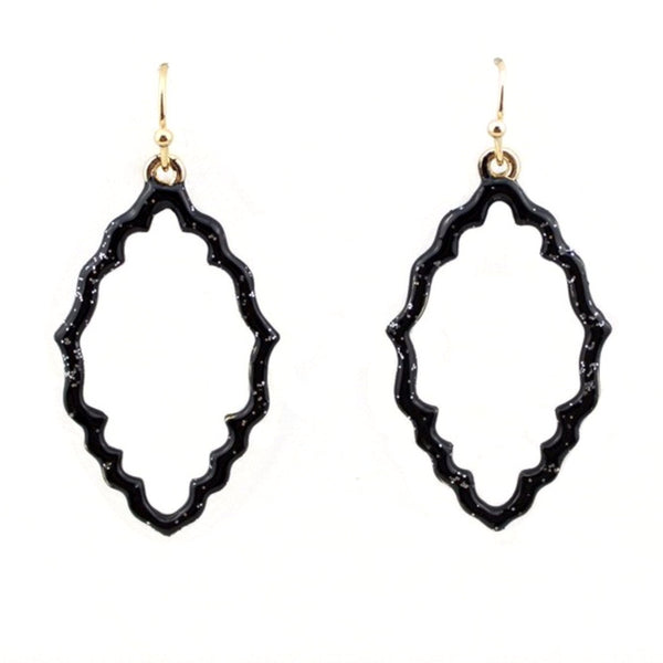 Moroccan Enamel Dipped Earrings
