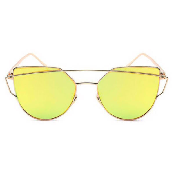 Siena Sunglasses - Gold Mirror