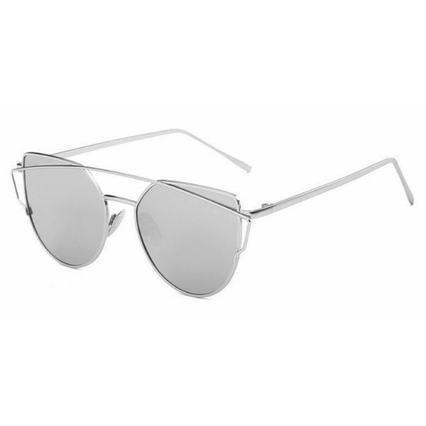 Siena Sunglasses - Silver Mirror