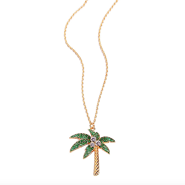 Summer Necklace - Palm Tree, Cactus, Pineapple and Flamingo