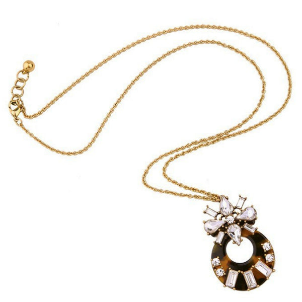 Tortoise Long Necklace