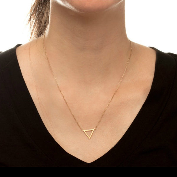 Triangle Dainty Necklace