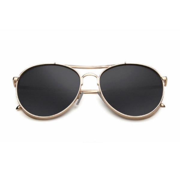 Turin Sunglasses - Black & Gold