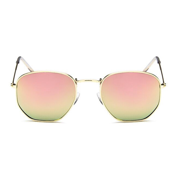 Valencia Sunglasses - Rose Gold Mirror