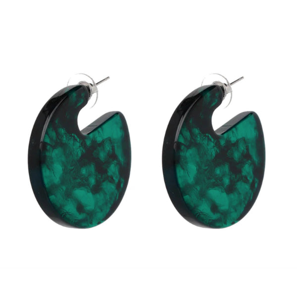 Willa Earrings - Green