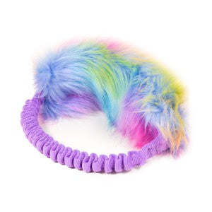 Unicorn fur bungee ring tug