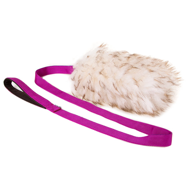 Sheepskin extra long tug