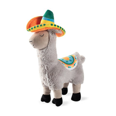 Fringe Studio Llama Party Time Plush Dog Toy