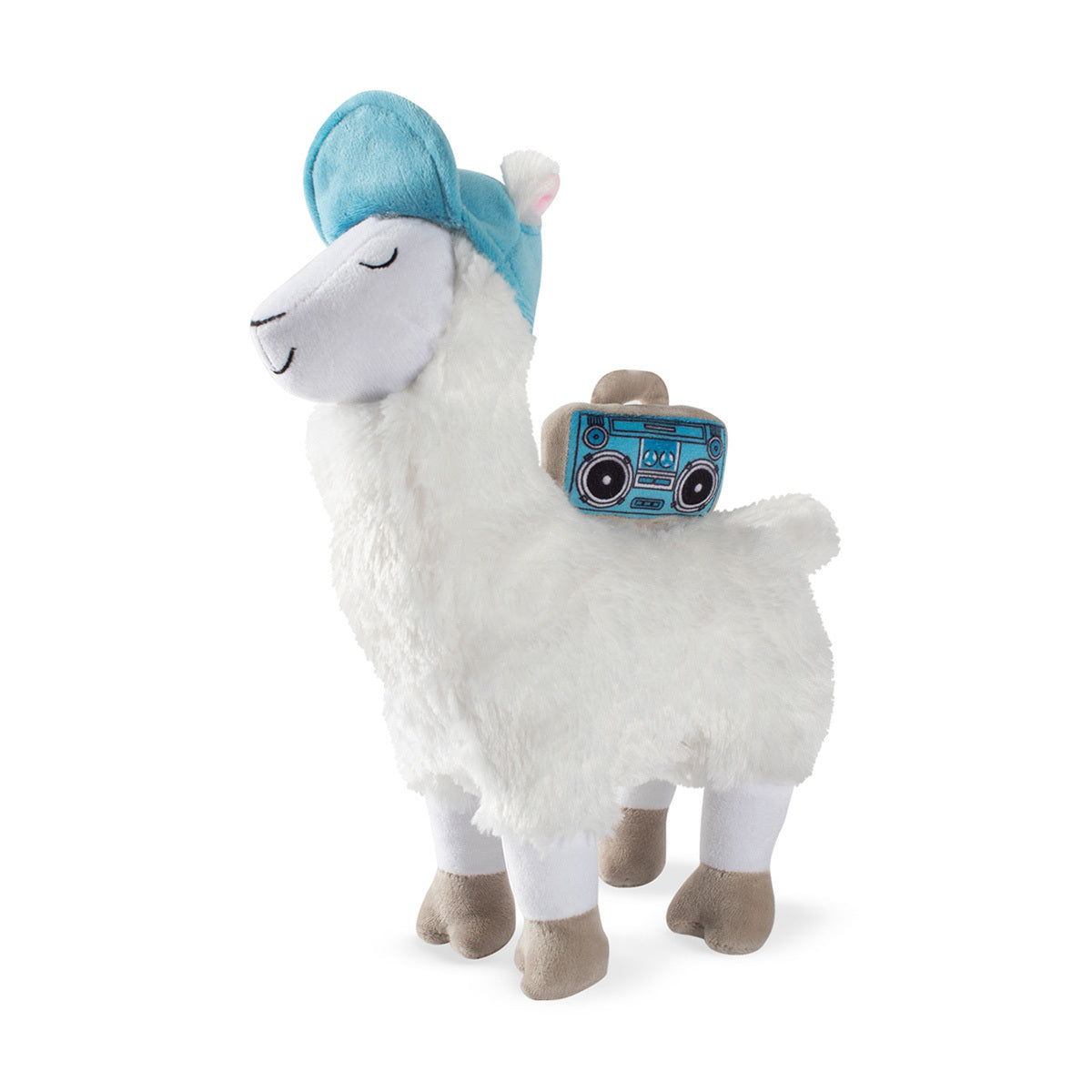 Fringe Studio Beats Llama Plush Dog Toy