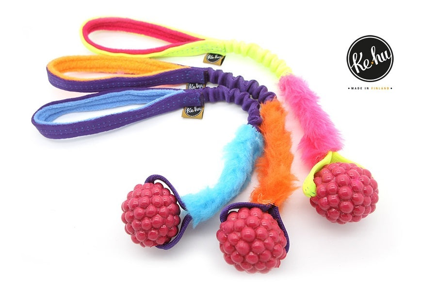 Ke-hu Rasberry Tug toy