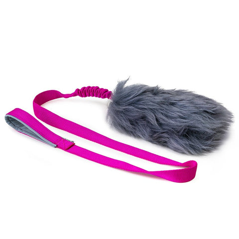 BIG Sheep Fur LONG bungee tug