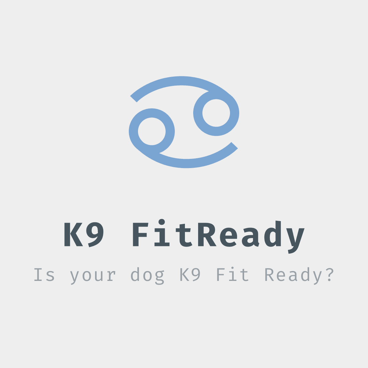 K9 FITREADY PERSONALIZED CANINE FITNESS PROGRAM