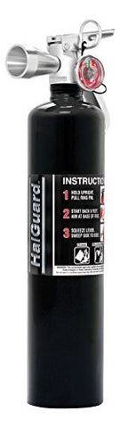 H3R 2.5lb. HalGuard Clean Agent Fire Extinguisher, Black