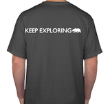 Keep Exploring T-Shirt, Gray