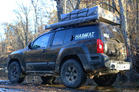 Nissan Xterra 2nd Generation Rear Recovery Point - Habitat Offroad