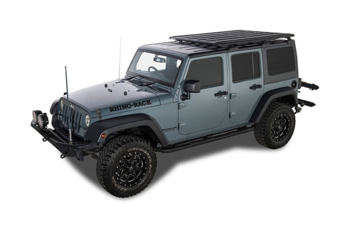 Rhino Rack Pioneer Platform with Quick-Mount Legs - Jeep JKU 4-Door