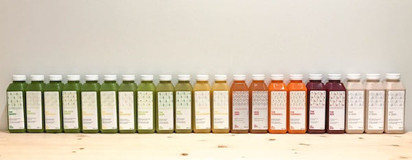 Juice Cleanse Lineup