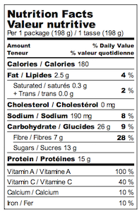 Purple Cowboy Nutrition Facts