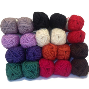 Felting yarns back in stock!