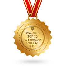 "I Wool Knit receives ""Top 30 Australian Knitting Blogs"" Award"