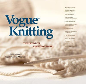 Book Review: Vogue Knitting