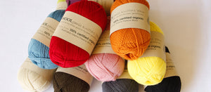 New addition: Woolganic 4ply. 100% organic Australian Merino yarn.