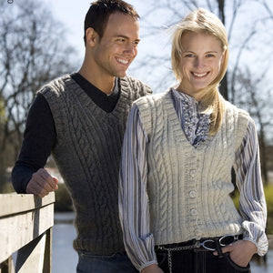 New knit kits: Classic garments in eco yarn