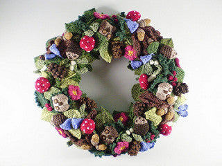 Frankie Brown - Knitted Wreath