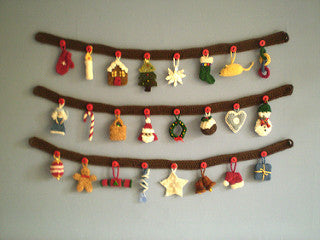 Advent Garland Knitting Pattern