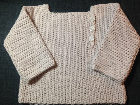 Crochet Baby Jacket in ggh Volante, I Wool Knit